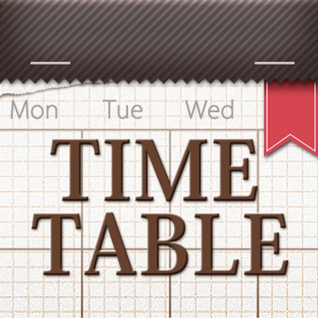 きせかえ時間割-かわいくお洒落な時間割表アプリ!手帳代わりに科目や先生、教室ごとに分類できて学校、塾の授業や試験のスケジュールも